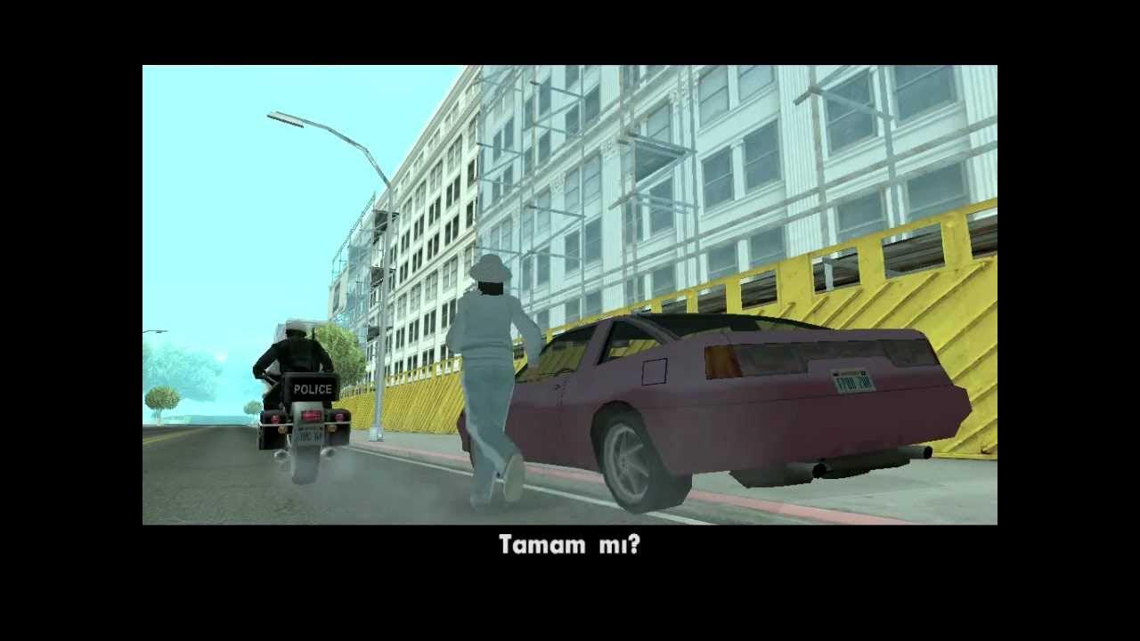 GTA San Andreas - Mission #58 - Highjack (HD)