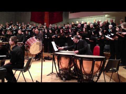 Carmina Burana - Altrincham Choral Society - WGS Choir - Libby Megson