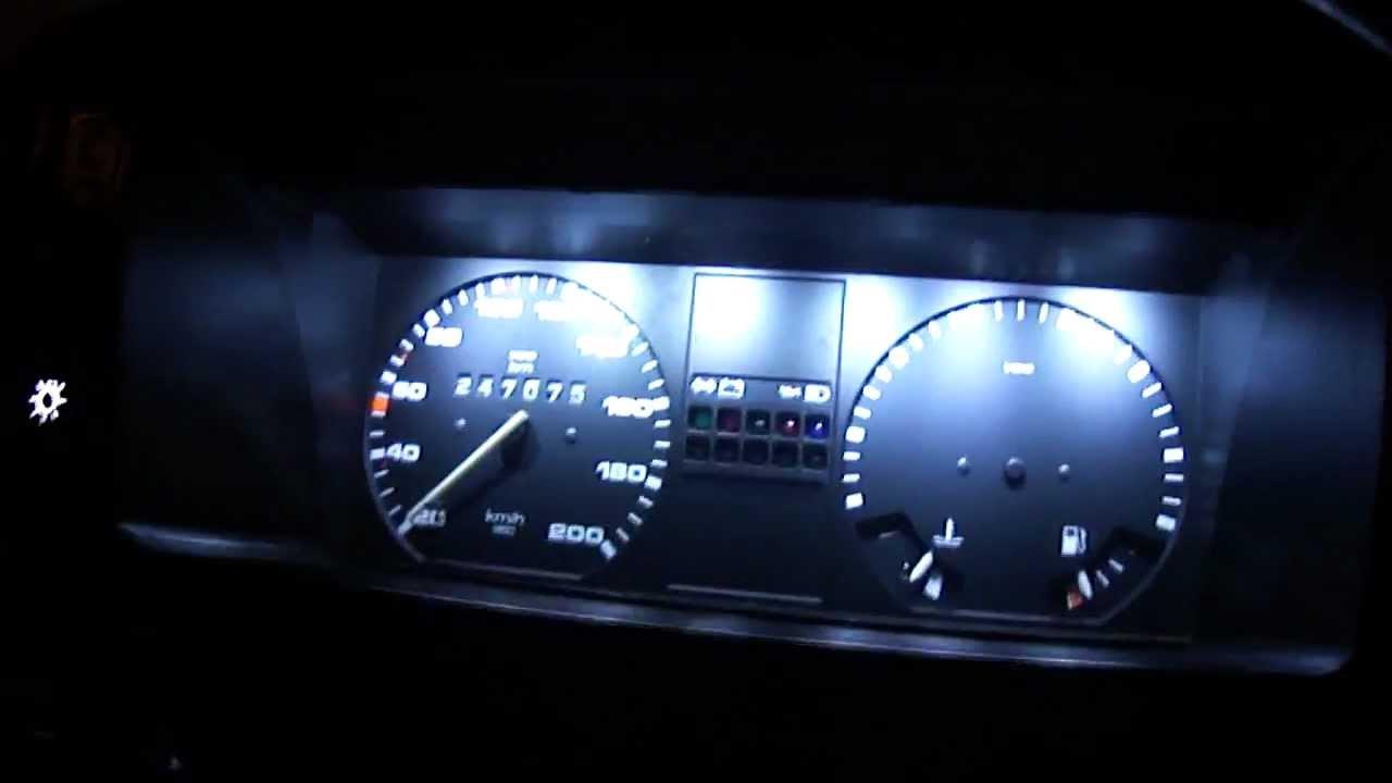 Iluminacion leds en jetta mk2 1992 youtube - Led iluminacion interior ...