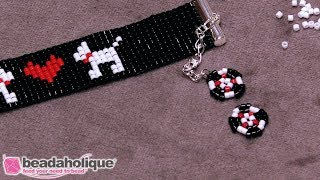 How to Bead Weave a Decorative Element for a Clasp