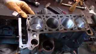 Часть 7 Lada Капитальный ремонт ВАЗ 2107 (1600)  Установка поршневой в блок цилиндров