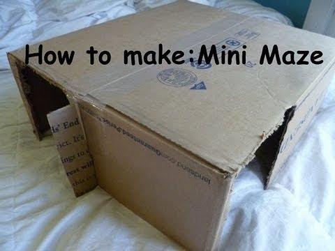 How to make Rabbit toy Mini Maze - YouTube
