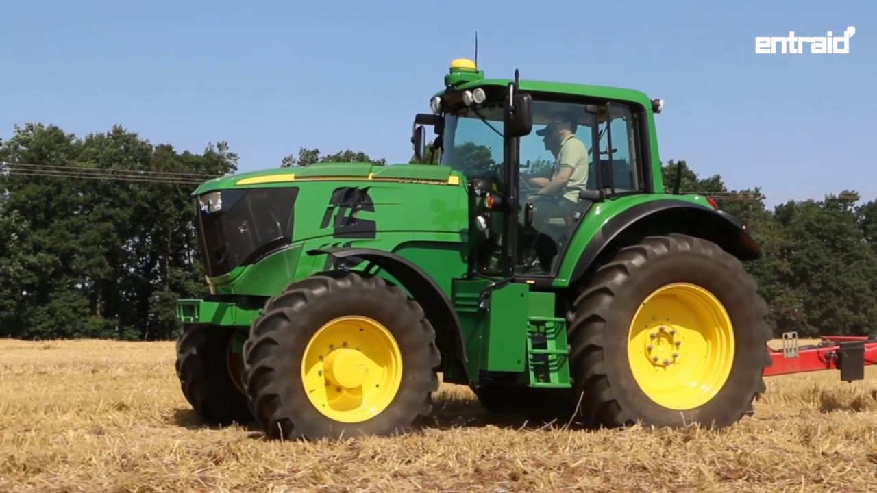 john deere lectrique essai du tracteur test drive sesam youtube. Black Bedroom Furniture Sets. Home Design Ideas