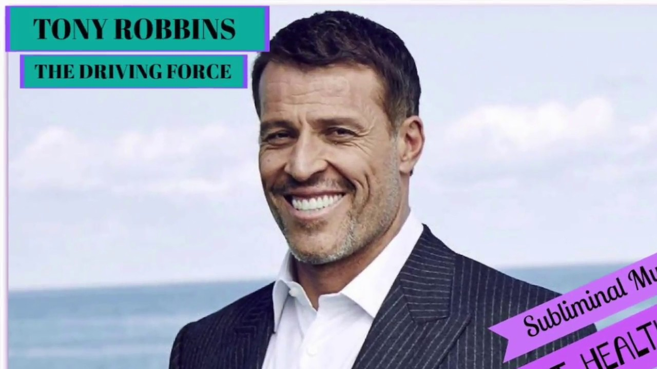 Tony Robbins Subliminal Message for Health & Energy 🚴🏼♀️ Personal Power  🚴🏼♂️