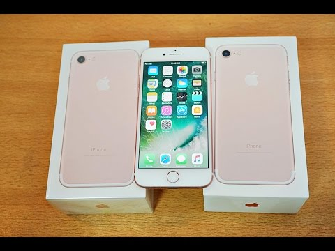 iPhone 7 - Unboxing, Setup & First Look! (4K)