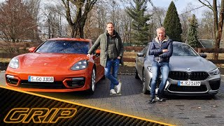Porsche Panamera Turbo S vs. BMW M8 Competition Gran Coupé I GRIP
