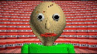 - 100,000 TNT VS BALDI Minecraft