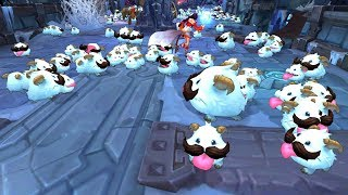 PORO INVASION! 200+ POROS!