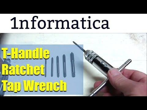 T-Handle Ratchet Tap Wrench  from Banggood