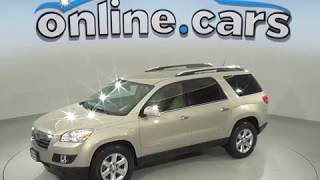 A99582GT Used 2007 Saturn OUTLOOK XR AWD SUV Gold Test Drive, Review, For Sale
