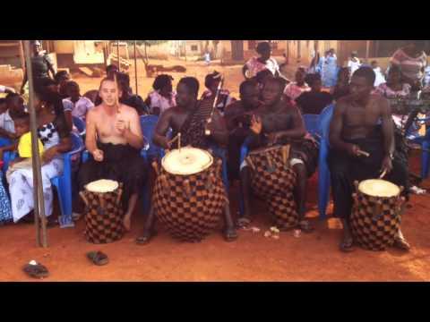 Kete group in Bomaa, Brong-Ahafo