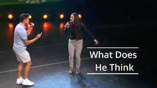 What Does He Think - Ammon and Liahona Olayan | Youth Music Festival 2020