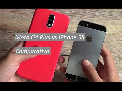 Moto G4 Plus vs iPhone 5S - Comparativo | Qual o Melhor em 2017?