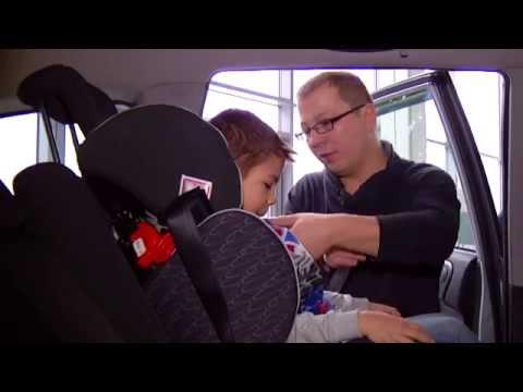 Правильная установка детского автокресла STM Starlight SP. Разъяснения МВД РК.