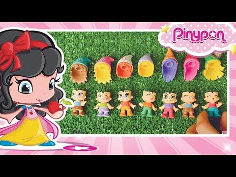 Pinypon Biancaneve e i sette nani inventano un nuovo gioco!