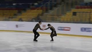 12 Natalia KALISZEK / Maksym SPODYRIEV - POL - Senior Ice Dance FD - Mentor Torun Cup 2019