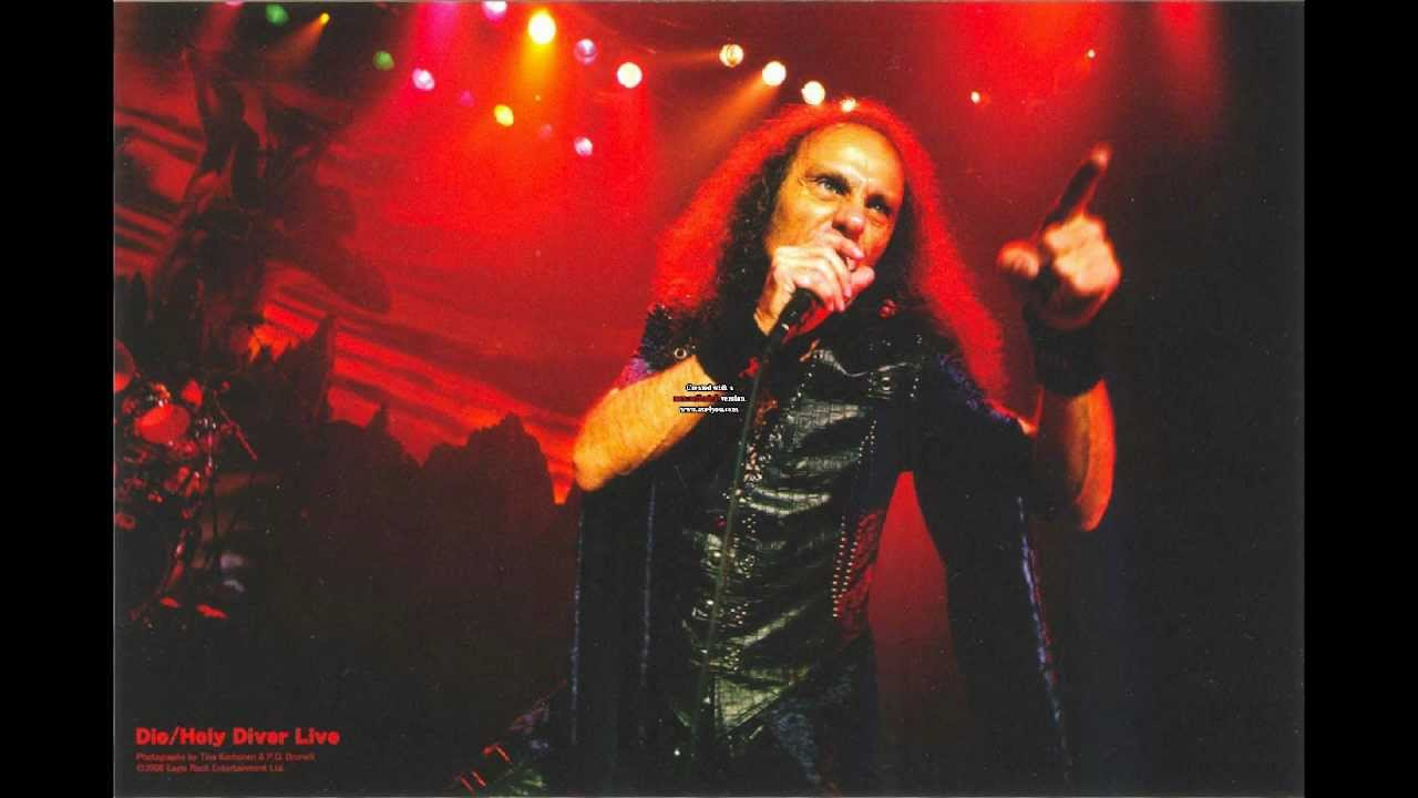 Dio Holy Diver Guitar Backing Track With Original Vocals From Dio