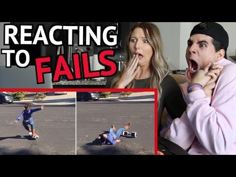 FUNNIEST FAILS COMPILATION 2016 REACTION!