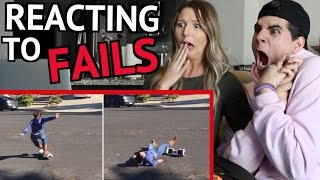 FUNNIEST FAILS COMPILATION 2016 REACTION!