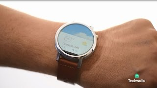 Android Smartwatch Meets the iPhone, Hands On