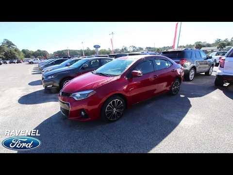 2014 Toyota Corolla S Premium   For Sale Review & Condition Report at Ravenel FORD - OCT 2017