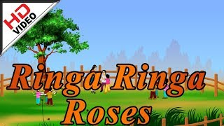 Ringa Ringa Roses Nursery Rhymes - English Animation Video sung by Bombay Saradha