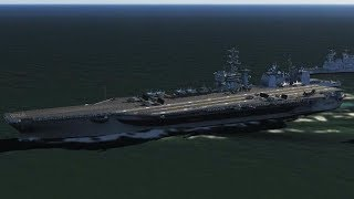 空母打撃群 機動艦隊に対艦攻撃 ホーネット F-18 60機 対艦ミサイル240発搭載 Carrier Strike Group Hornet aircraft carrier