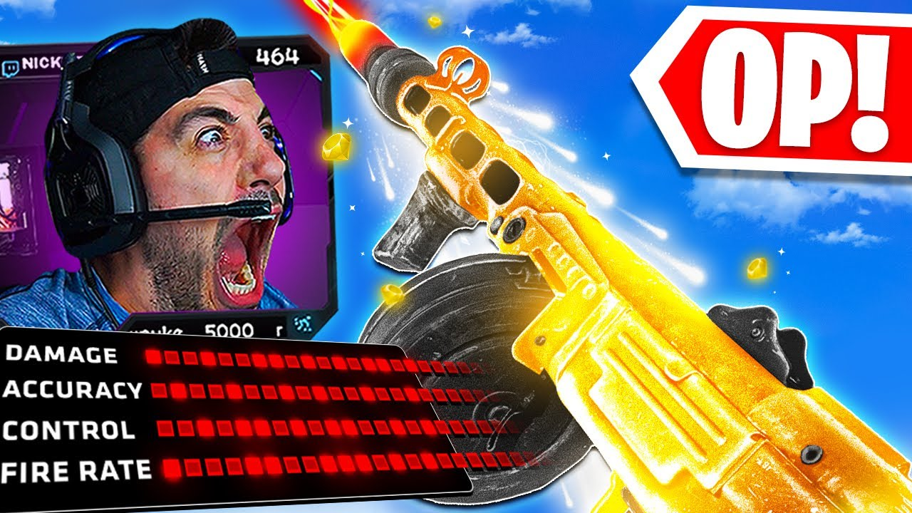 Download Use This NEW PPSH Class NOW! 😱 IT'S OVERPOWERED! (Cold War Warzone)