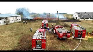 W Leleku spłonęła stodoła