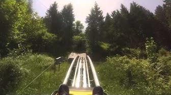 Luge d'été à Buttes (Suisse)