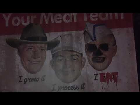 Meat Market Scare Zone Walkthrough at Howl O Scream Tampa