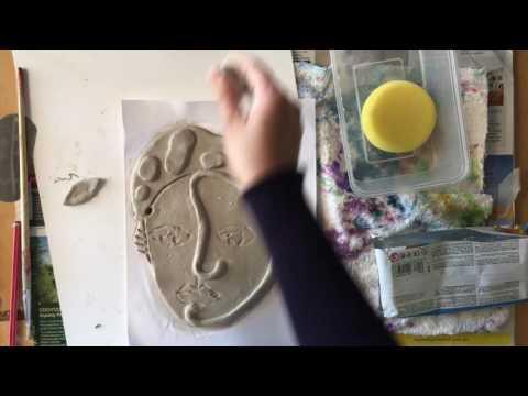 Cubist Ceramic Celebrity Heads
