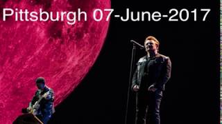 U2 - Pittsburgh, USA 07-June-2017 (Full Concerts With Enhanced Audio)