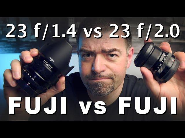 Fujinon 23mm F 1.4 vs 2.0 WR | Autofocus, Bokeh, Qualità ottiche e  costruttive a confronto!