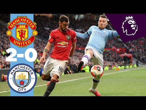 HIGHLIGHTS | MAN UTD 2-0 MAN CITY, MARTIAL, McTOMINAY