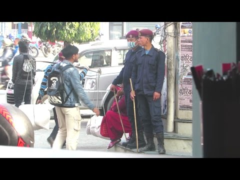Cops' Reaction after knowing their local name in Nepal