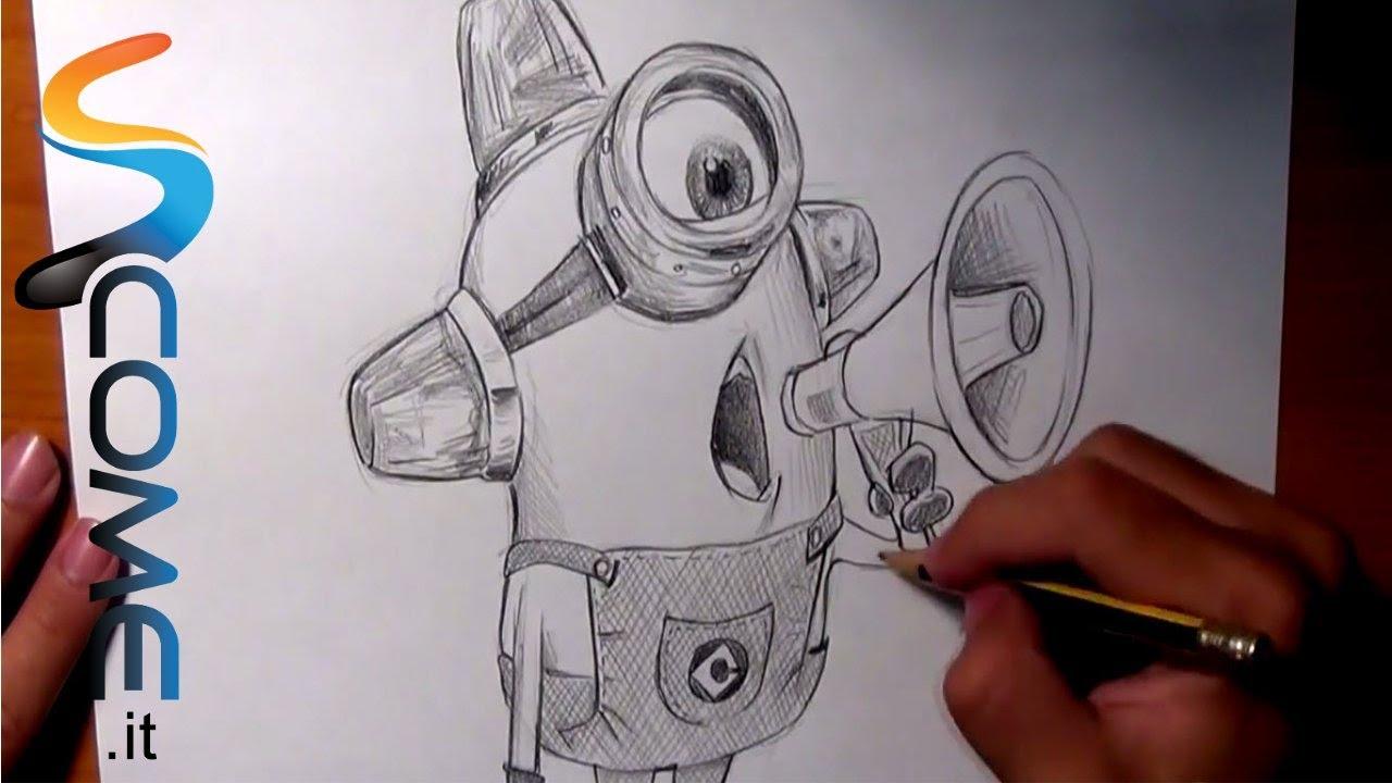 Guarda come disegnare il minion ambulanza di cattivissimo for Immagini di murales e graffiti