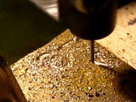 DIY 3 axis CNC bronze milling