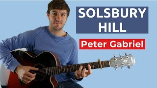 How to Play Solsbury Hill by Peter Gabriel on Guitar