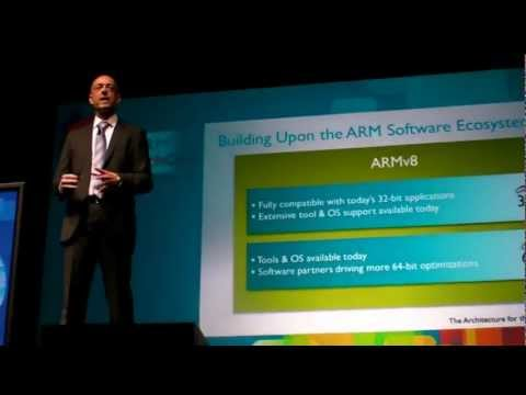 ARM Keynote: ARM Cortex-A53 and ARM Cortex-A57 launched