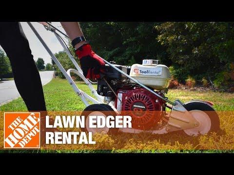 Lawn Edger Rental | The Home Depot Rental