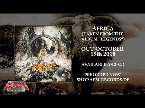 BONFIRE - Africa 2018 //  Audio  // AFM Records