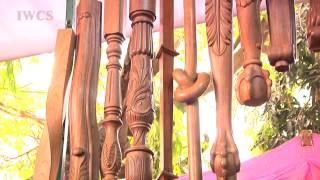 Art & Joy Of Wood: India Exhibition Area