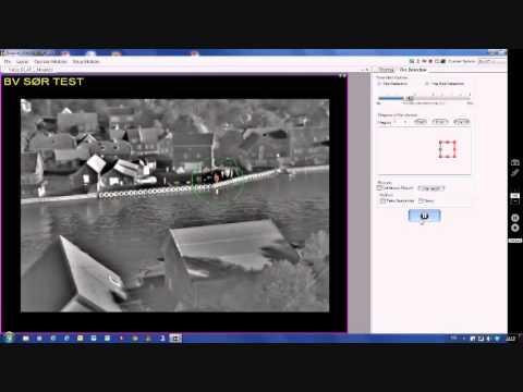 Nortronicom Test branndeteksjonskamera Skudeneshavn