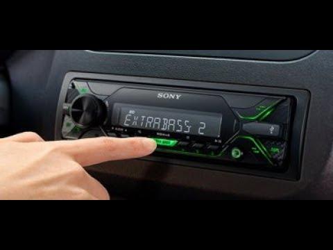 Обзор Самая дешёвая магнитола Sony 2018года. Sony DSX A212UI. Разбор настроек и подключения