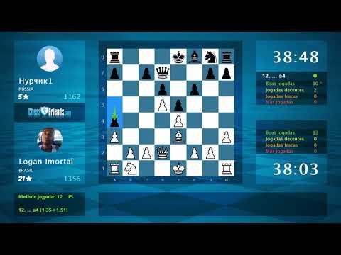 Chess Game Analysis: Logan Imortal - Нурчик1 : 1-0 (By ChessFriends.com)