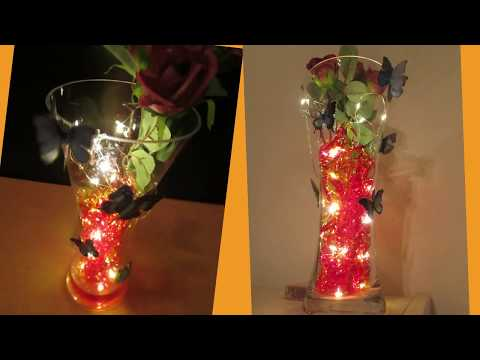 How to Make a Beautiful Light Vase in Five Minutes