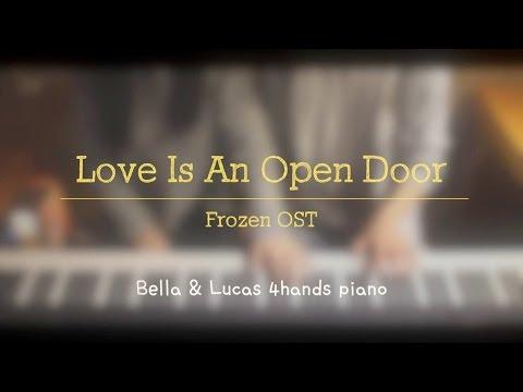 Love Is An Open Door - Frozen[겨울왕국] OST 4hands piano cover