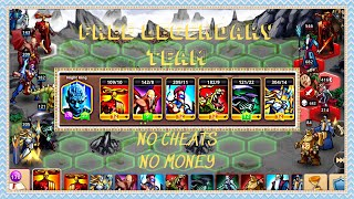Heroes magic war , FREE LEGENDARY TEAM with no CHEATS no MONEY in just 1 Nice DAY (Bí kíp tập chơi) screenshot 1