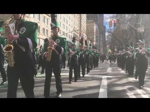 Ashwaubenon High School Marching Band 2019 NYC Saint Patrick's Day Parade